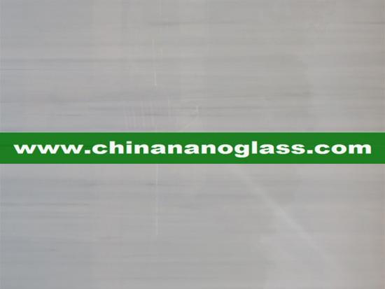 Grey Wooden Nano Marble Slab Wood Nano Glass