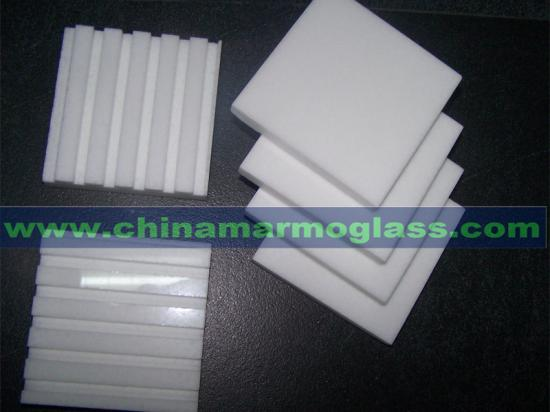 White Glass Thasos Tile the Neoparies Tiles