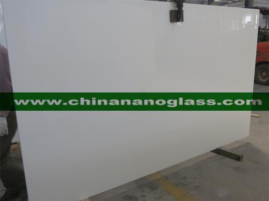 High Quality Artificial Stone White Nano Crystallized Glass Stone panel for Countertops Wall Floor Tile Stairs Risers