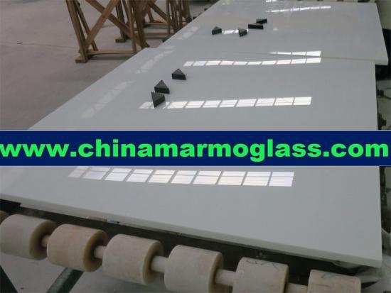 Super White China Nano Glass Stone Slabs and Tiles
