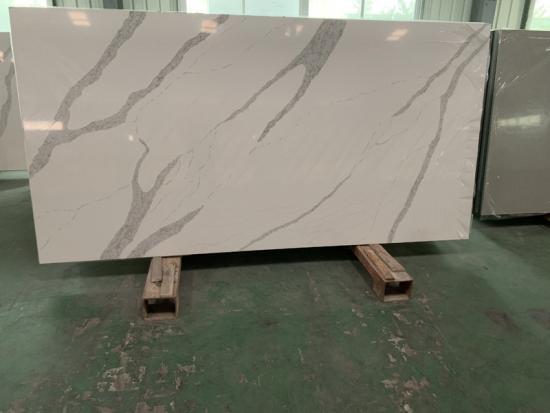 Engineered Stone Artificial Quartz Calacatta Slab