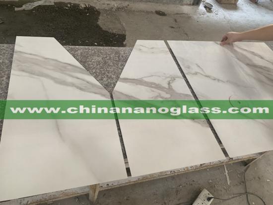Sintered Stone Calacatta Table Work Tops Cafe Desk