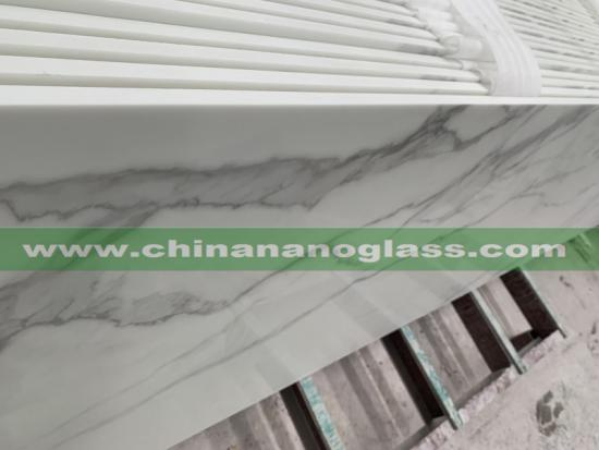 Calacatta Nano Glass Slab 2020 Hot Selling