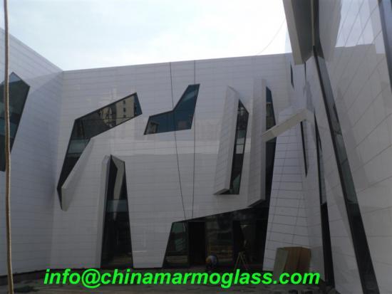 Super White Marmoglass Wall Tile