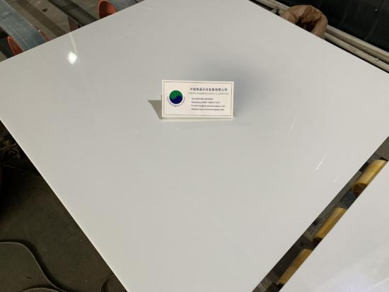 Marmo Glass White Tile 800x800mm For Flooring and Walling