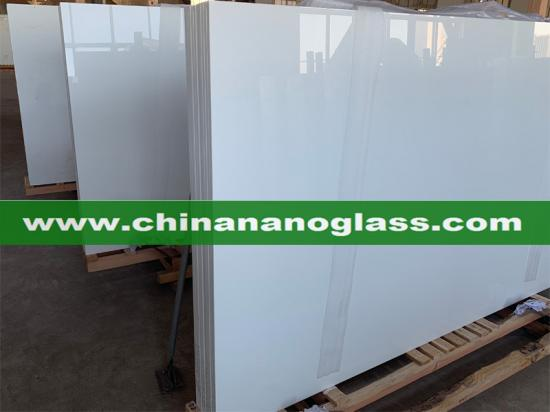 Crystallized Glass Panels Nano White Slabs