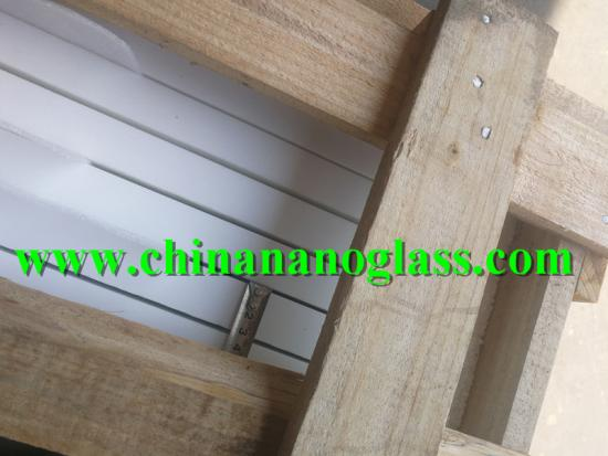 30mm Nano White Glass Slab 3cm Thickness Nano Glass