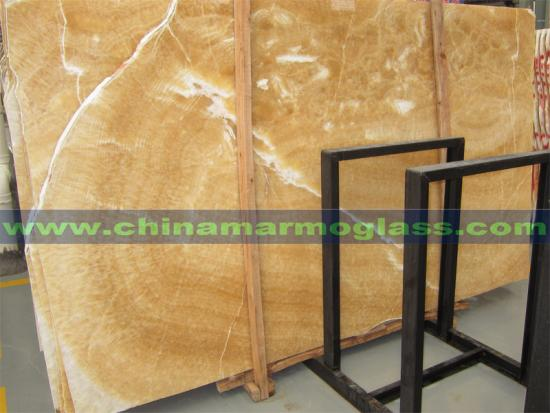 Gold Vein Slabs Top Quality Polished  Gold Onyx Slabs