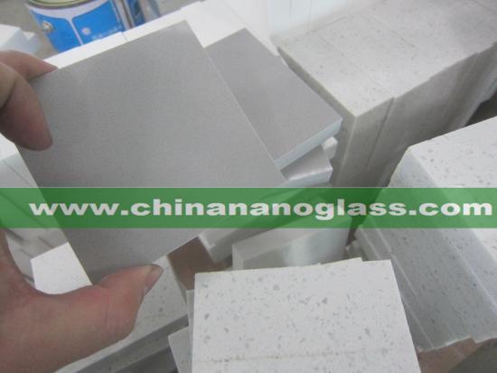 Pure Light Grey or Dark Grey Color Quartz Countertops