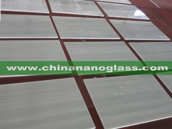 Wood Grey Nano Glass Slabs and Tiles