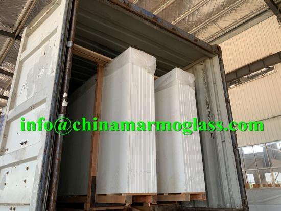 Super White Nano Grade Crystal White Tile White Glassos Nano Crystal Glass Slabs 10mm 12mm 18mm 30mm