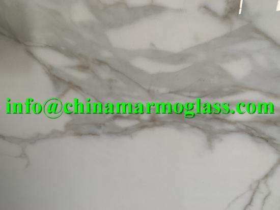 Calacatta Gold Nano Glass Stone Surface
