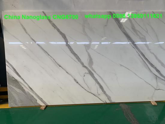 High quality polished Colourful Nano Crystallized Panel Slabs for kitchen countertops building construction decoration
