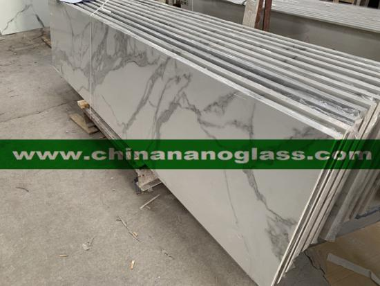 Beatiful and New Design Calacatta Carrara Sintered Stone Countertop