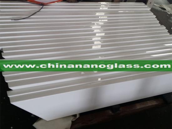 Super White Crystallized Nanoglass for Window Sills and Thresholds