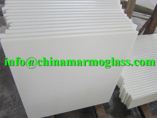 high quality nano white crystallized decorative glass panels for sale