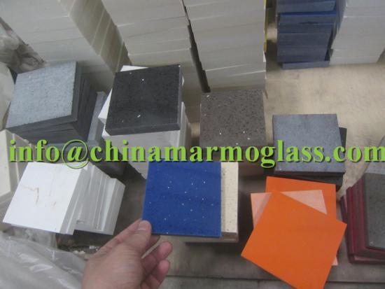 Shining Blue Quartz Countertops bring magic into your kitchen