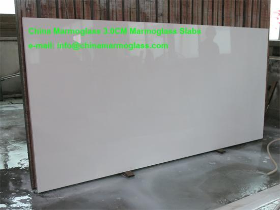 Hot Selling 3.0CM Marmoglass Slabs for Countertops and Stairs