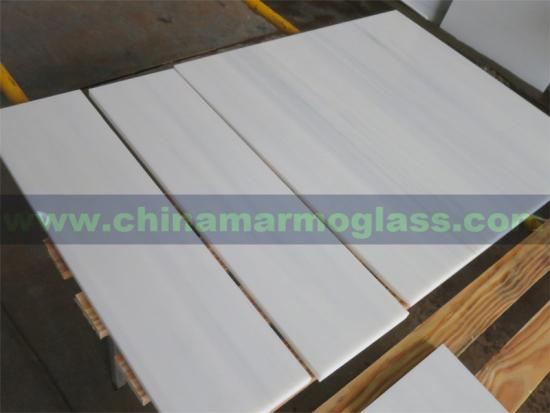 Wood Vein Nano Glass Marble Slab and Tile