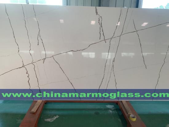 Calacatta Marble Like Artificial Stone Quartz Countertops