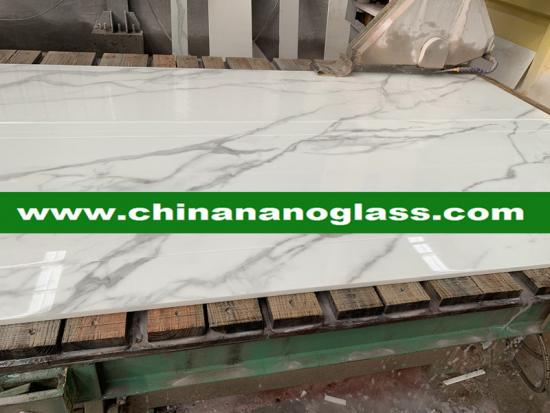 White Calacata Calacatta Nanoglass with good price