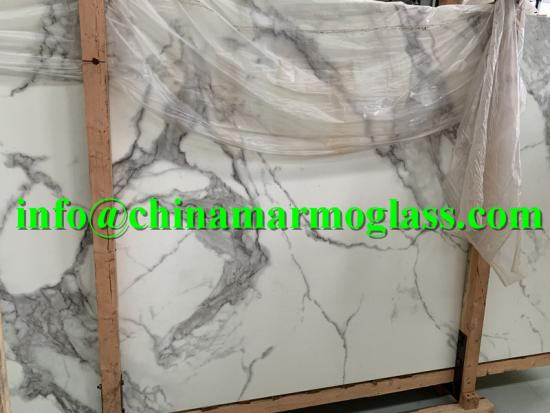 New Design Nano Glass Calacatta Slabs 2020