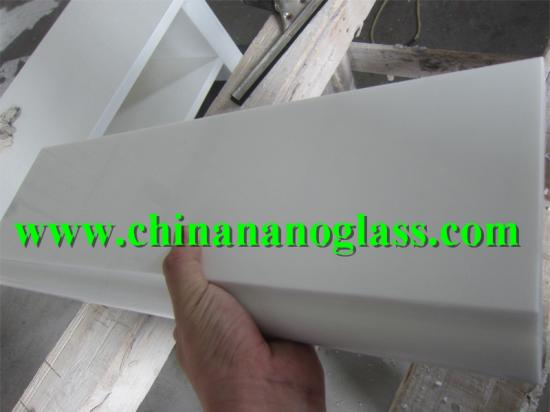 Nano Crystal White Glass