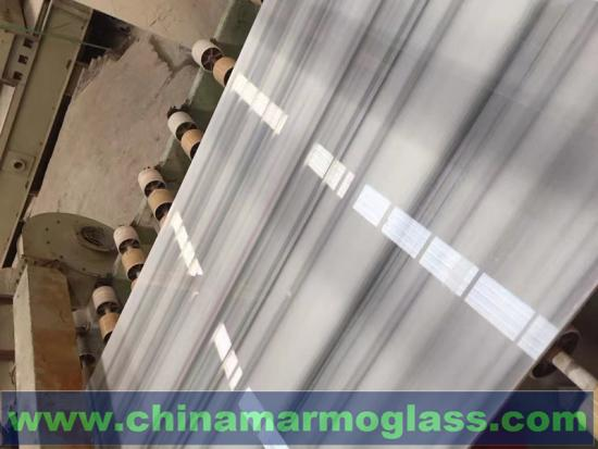 Luxury Polished Marmara White Marble Slab for Countertops