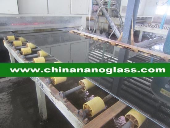 Black Crystallized Glass Panel