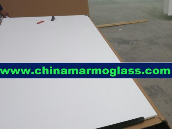Crystallized Glass Panel Tabletop and Vanity top