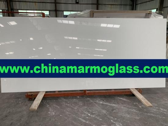 Manufacturer for Nanoglass Pure White Nano Glass Stone in China