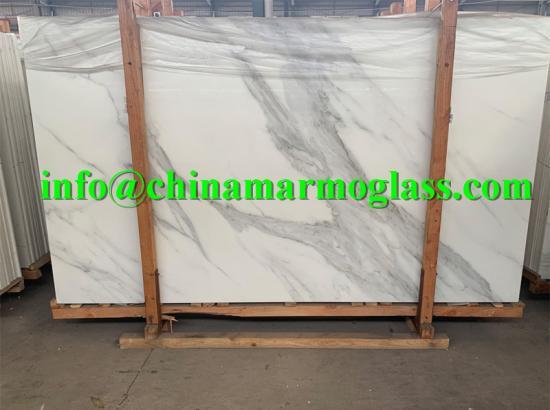 Marmor Calacatta Marmor Glass