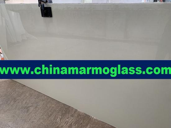 3cm thickness Beige Color Marmoglass for Wall and Flooring