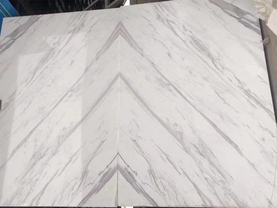 Bookmatch Calacatta Marble Artificial Engineering Stone