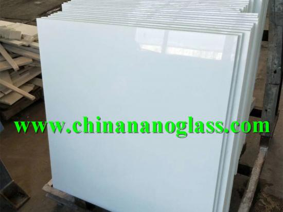 Marmo Glass White Tile 900x900mm