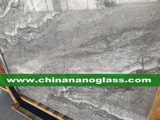 Marble Vein Look Nano Glass Stone Slab