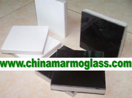 Marmoglass Composite Panel Tile White Color and Black Color Available