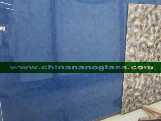 Magna Glass2 Ocean Blue 2cm Polished Slab