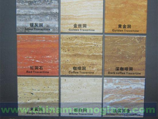 2CM Beige Travertine Yellow Travertine Grey Wood Travertine Marble Slabs