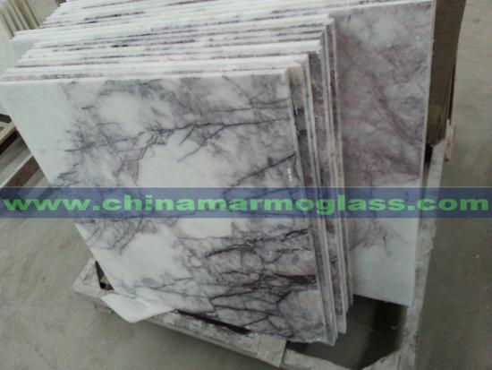 Interior Decoration Lilac Marble Tiles and Slabs