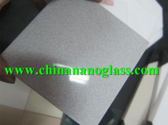 Grey Crystallized Marmo Glass