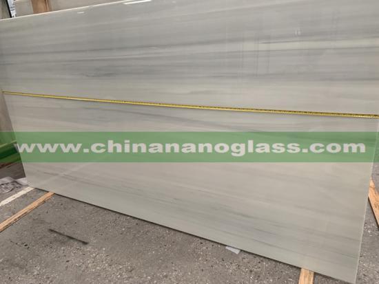 Grey Nano Crystallized Glass Slabs Grey Nanoglass