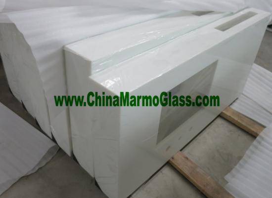 Nanoglass crystal glass vanitytop