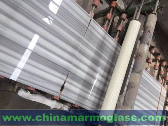 Turkey Grey Veins Marmara White Marble Slabs Tiles