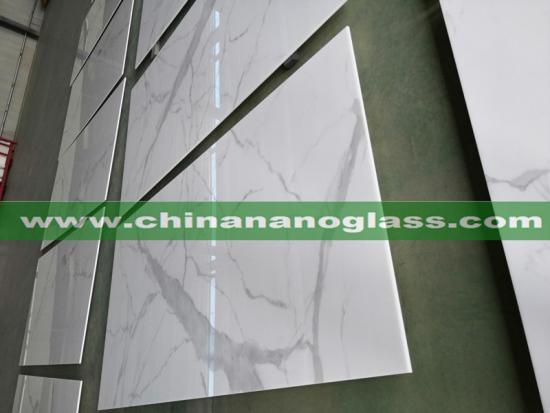 Statuario Marble Porcelain Slabs Sintered Stone For Countertop