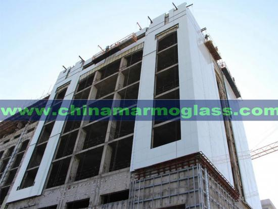 Crystallised Glass Facades Neoparies Tile 600x600mm