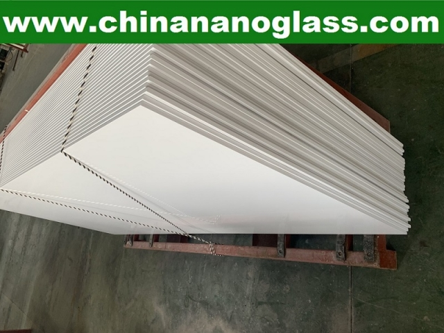 Super Nano White Marble Stoneglass