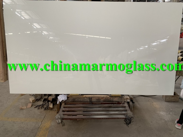 Glassos Nano White Glass Stone Slabs 10mm 18mm 20mm