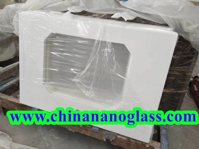 White Thassos Nano Glass