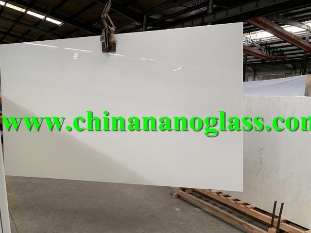 Jumbo Size Slab of Nano Glass 300x160x2cm